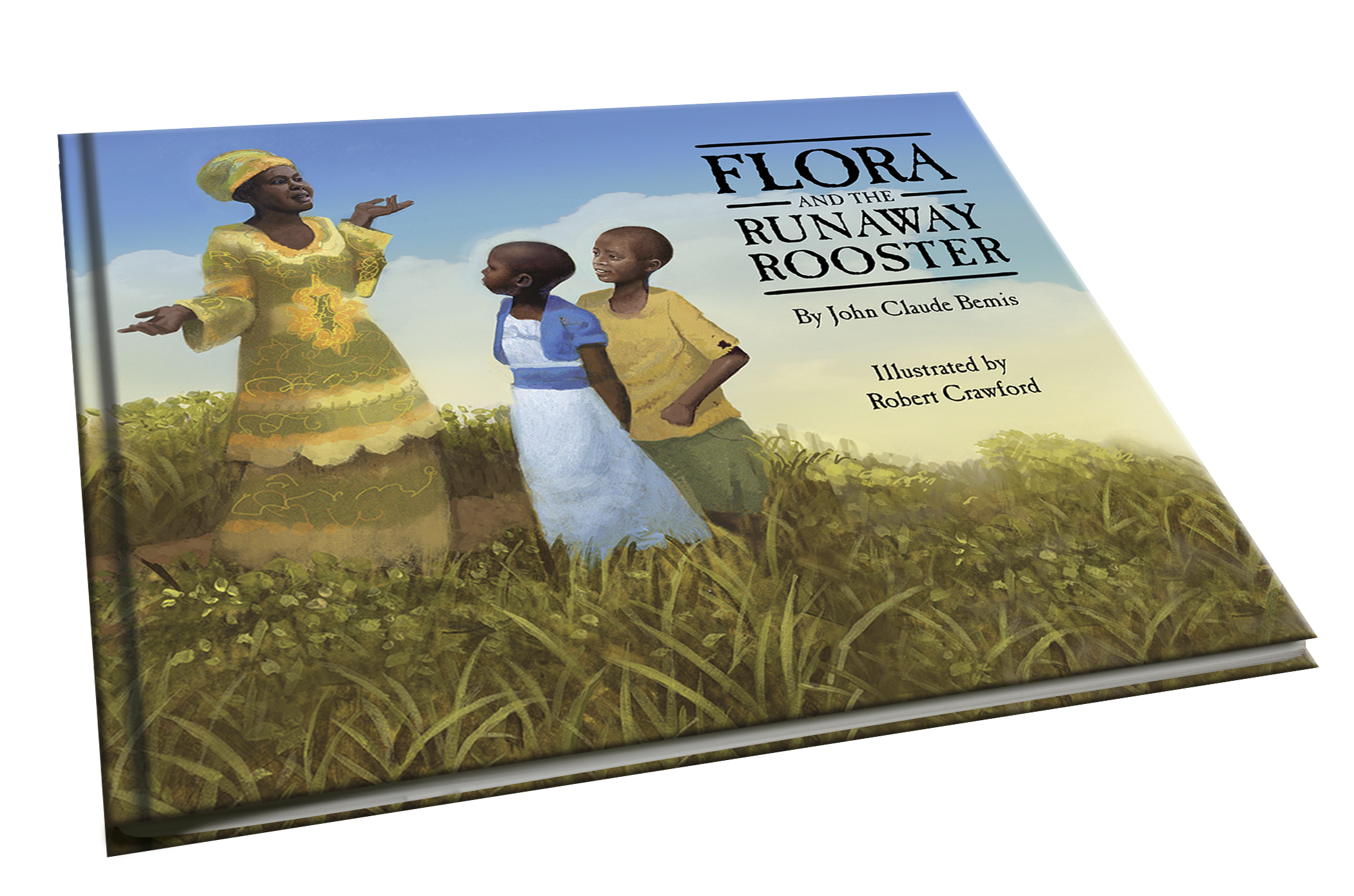 Flora and the Runaway Rooster cover
