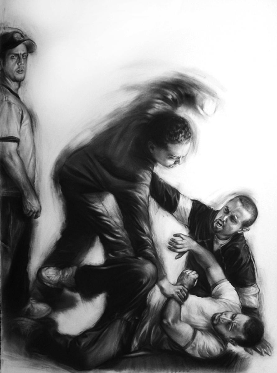 FIGHTING AMONGST FRIENDS