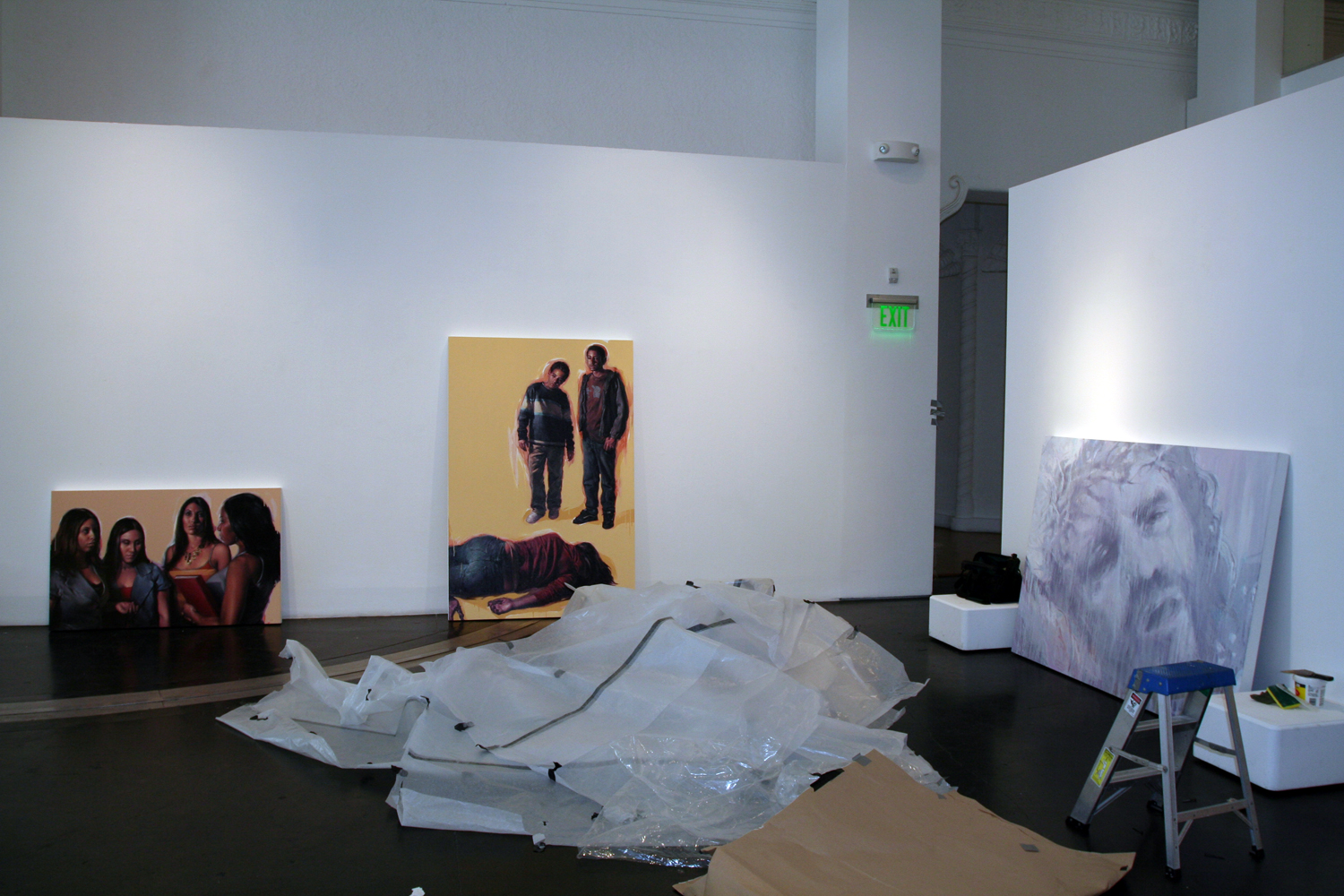 Installing at Gallery C