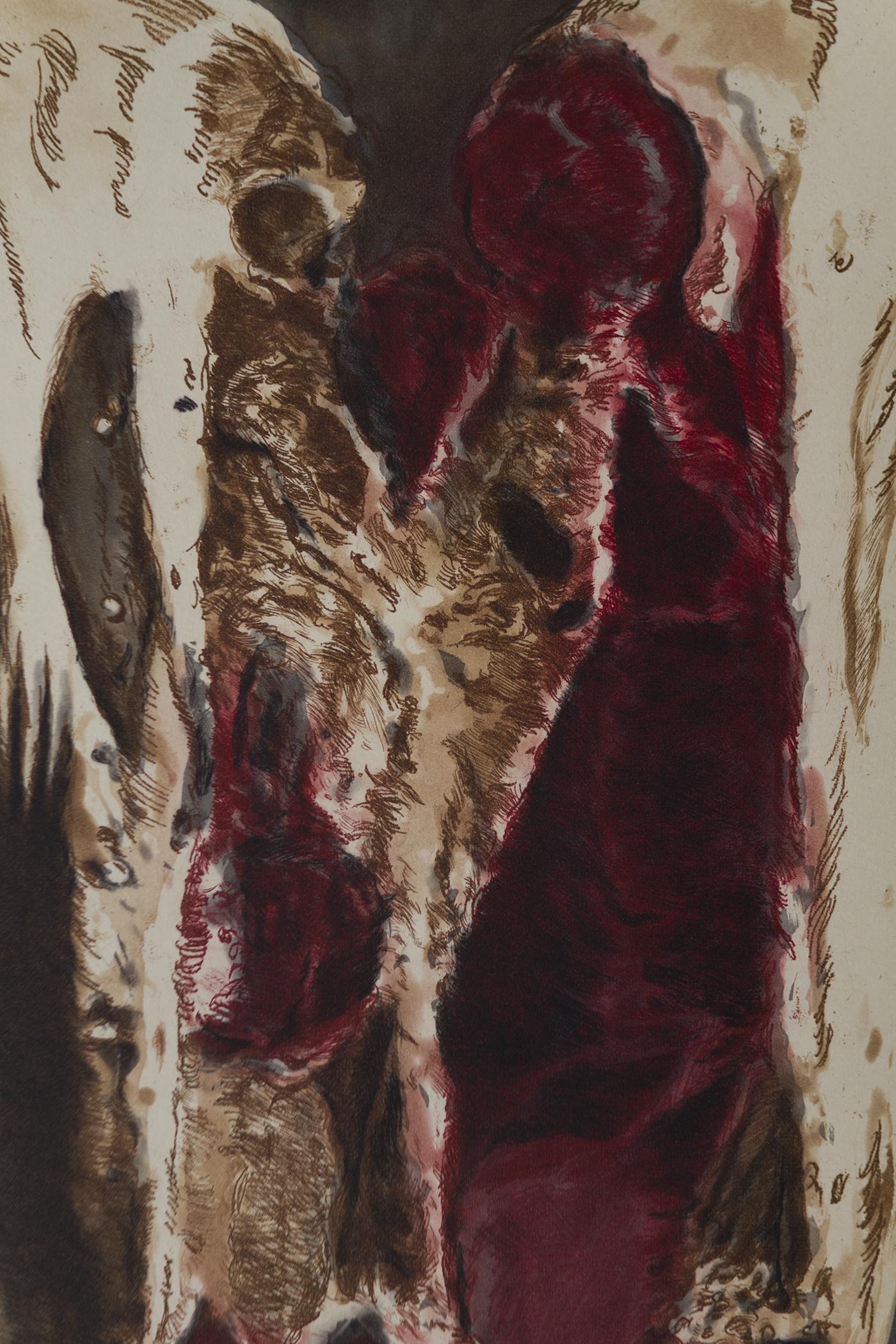 Carcass ( detail)