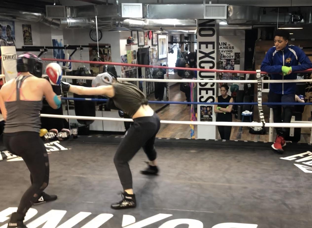 CLASSES — Women's World of Boxing