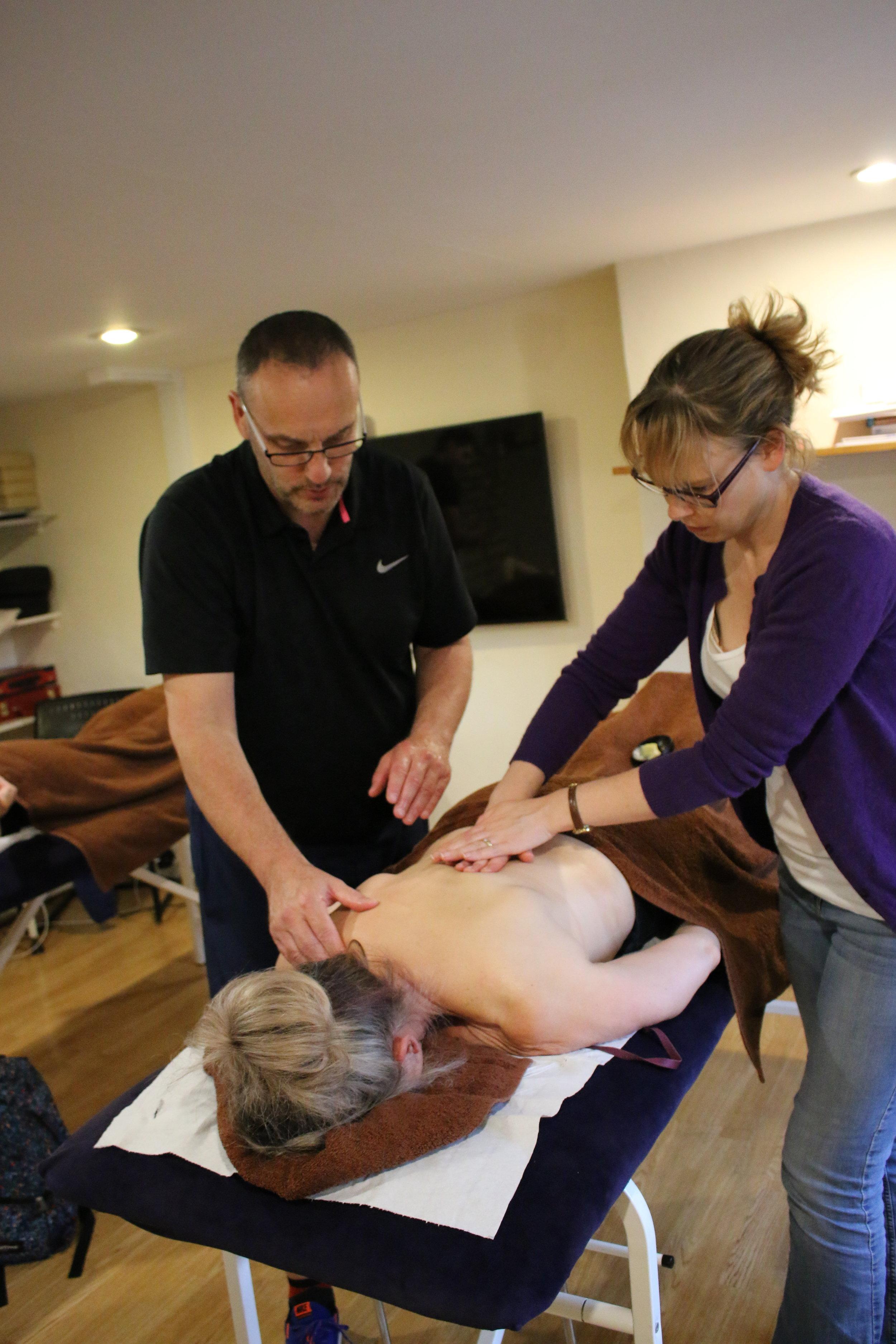 Sports Massage Cotswold Academy 1
