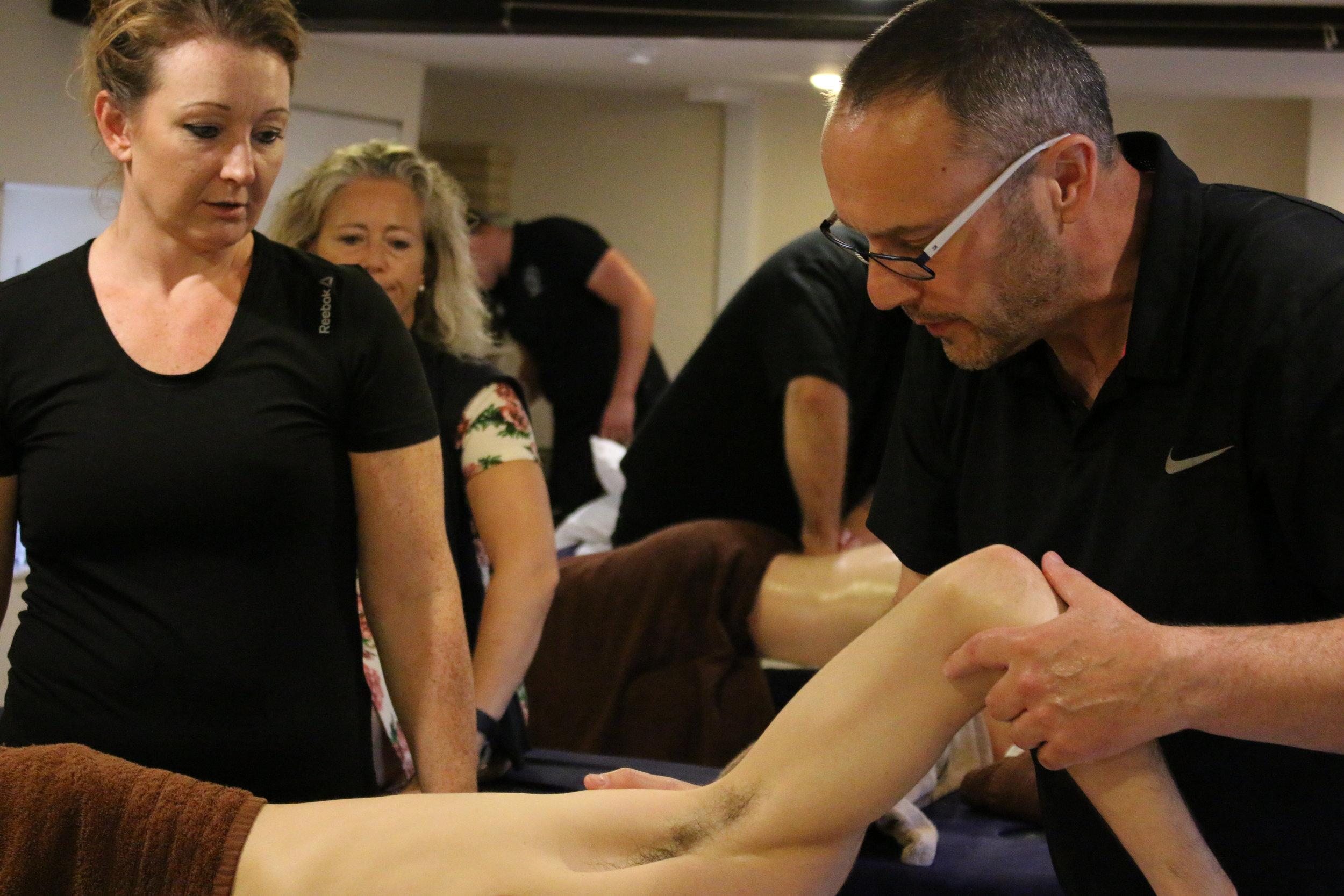 Sports Massage Cotswold Academy 3