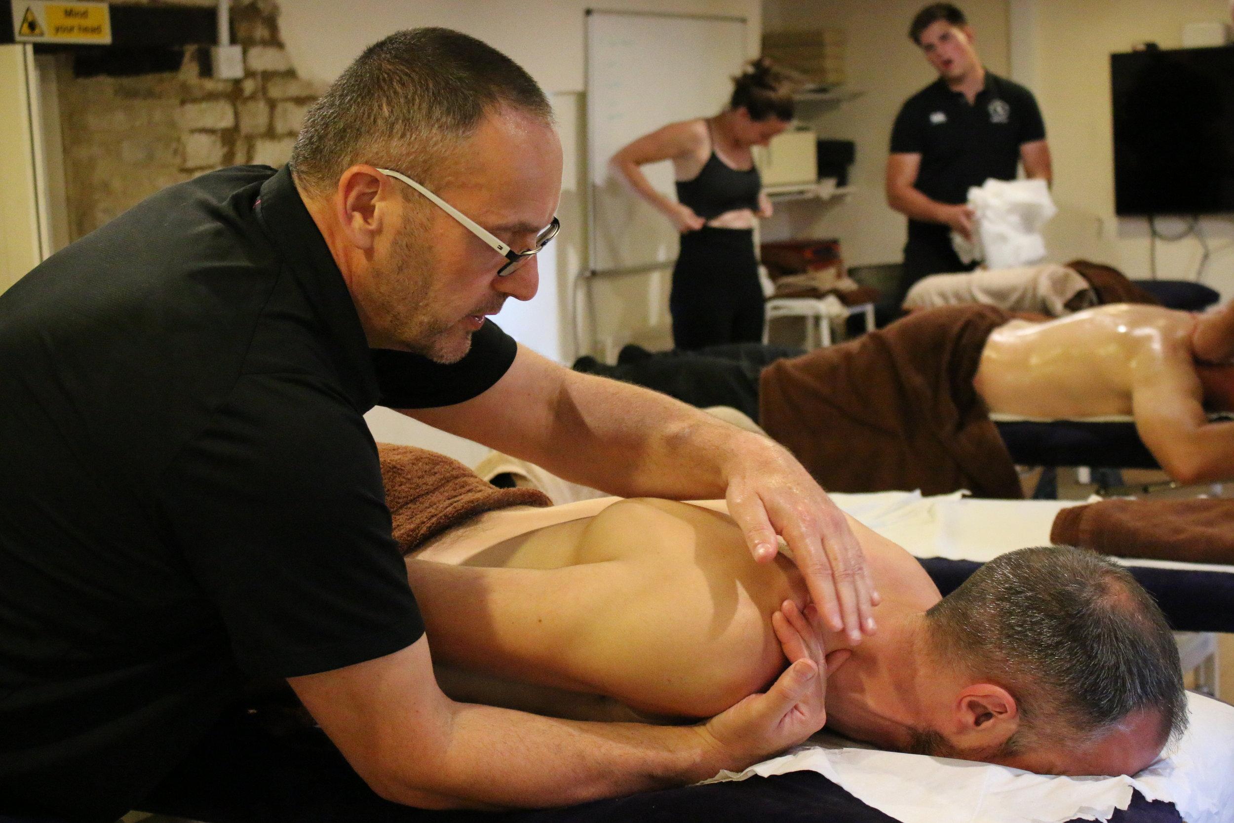 Sports Massage Cotswold Academy 2