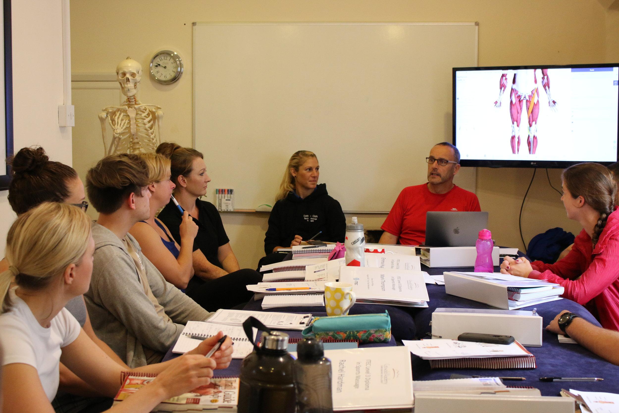 Sports Massage Cotswold Academy 7