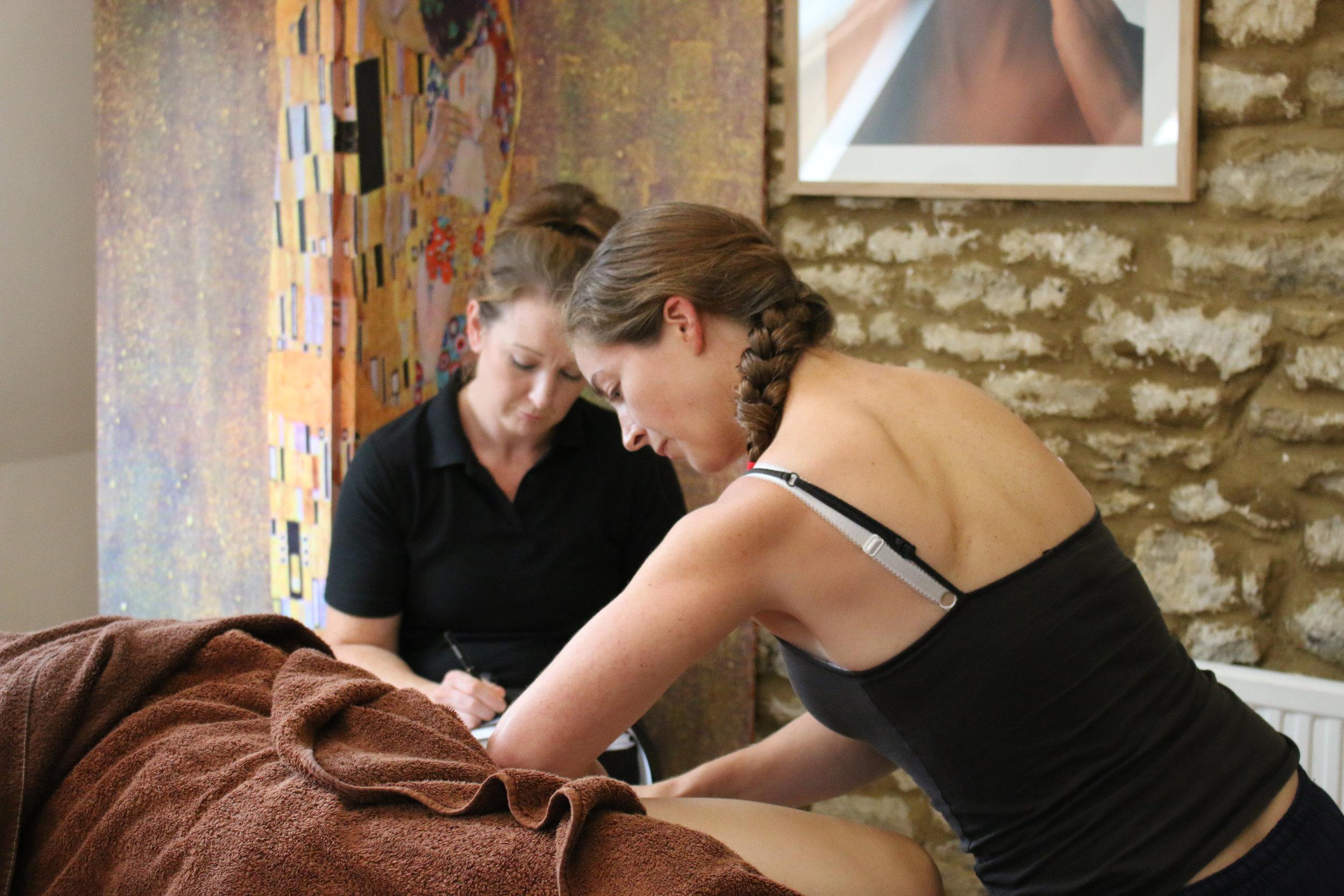 Sports Massage Cotswold Academy 12