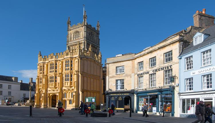 The parish church in Cirencester