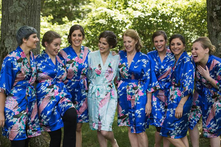 bride emma Levine & bridal party / photography Chelsea bos photography / makeup by leah Francesca & erin marzilli