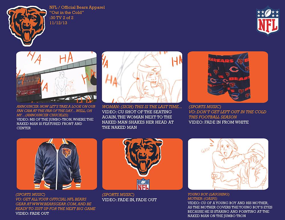 Bears Apparel Storyboard 2/2