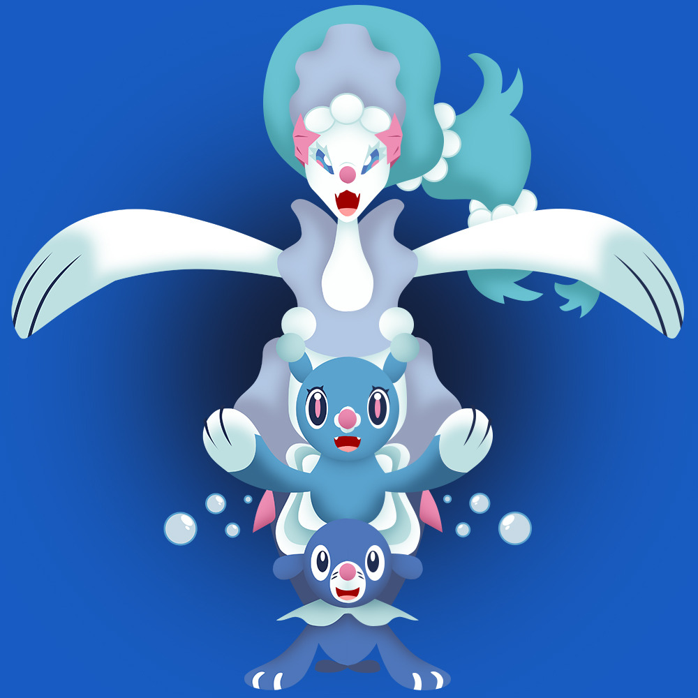 Popplio Evolution