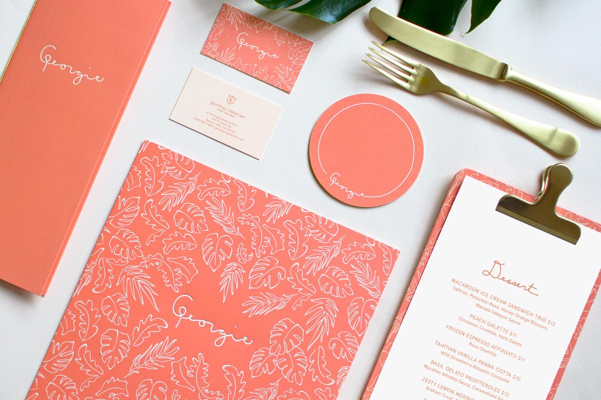 sandy-ley-graphic-design-georgie-restaurant-beverly-hills-geoffrey-zakarian-branding-identity