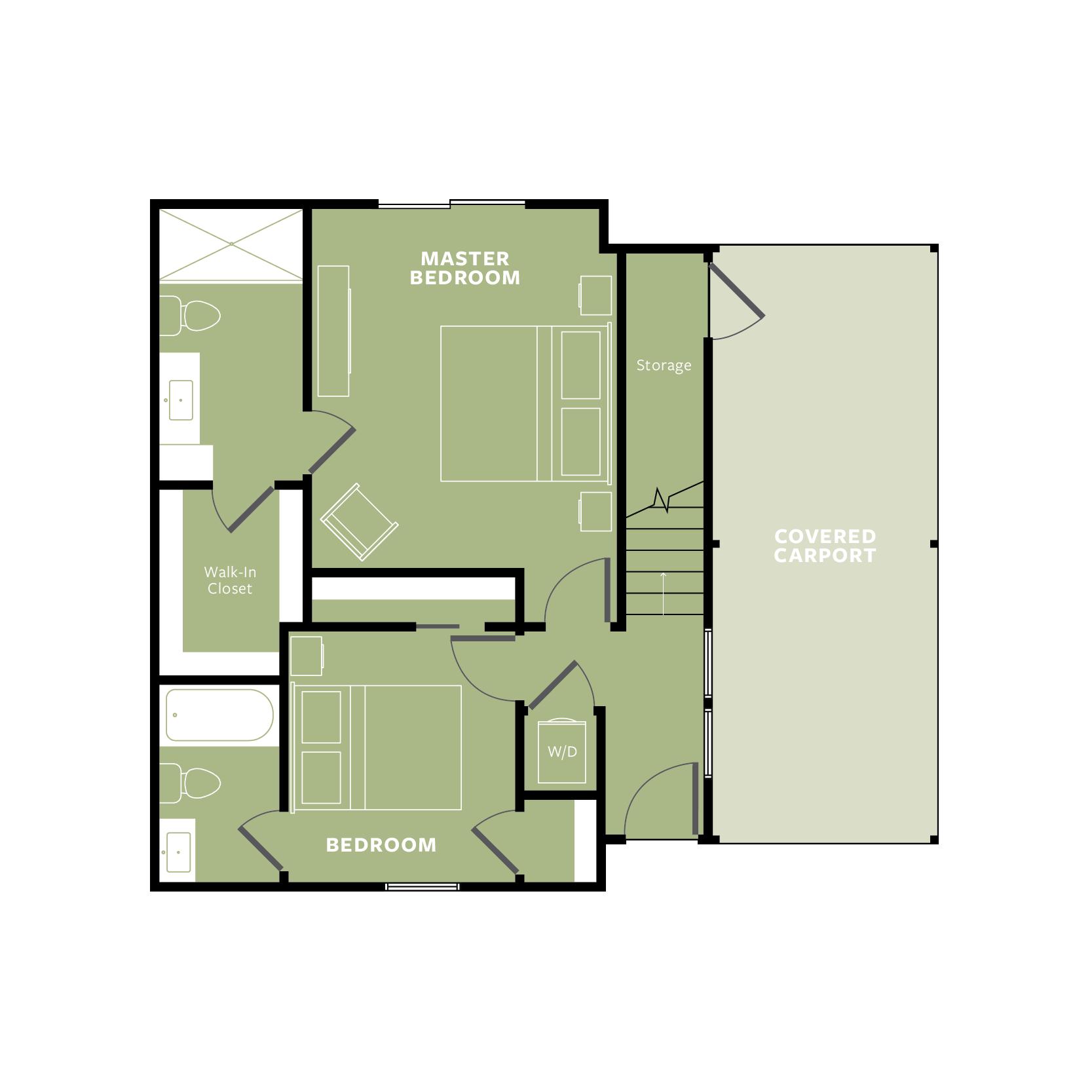 GREEN: Ground Floor