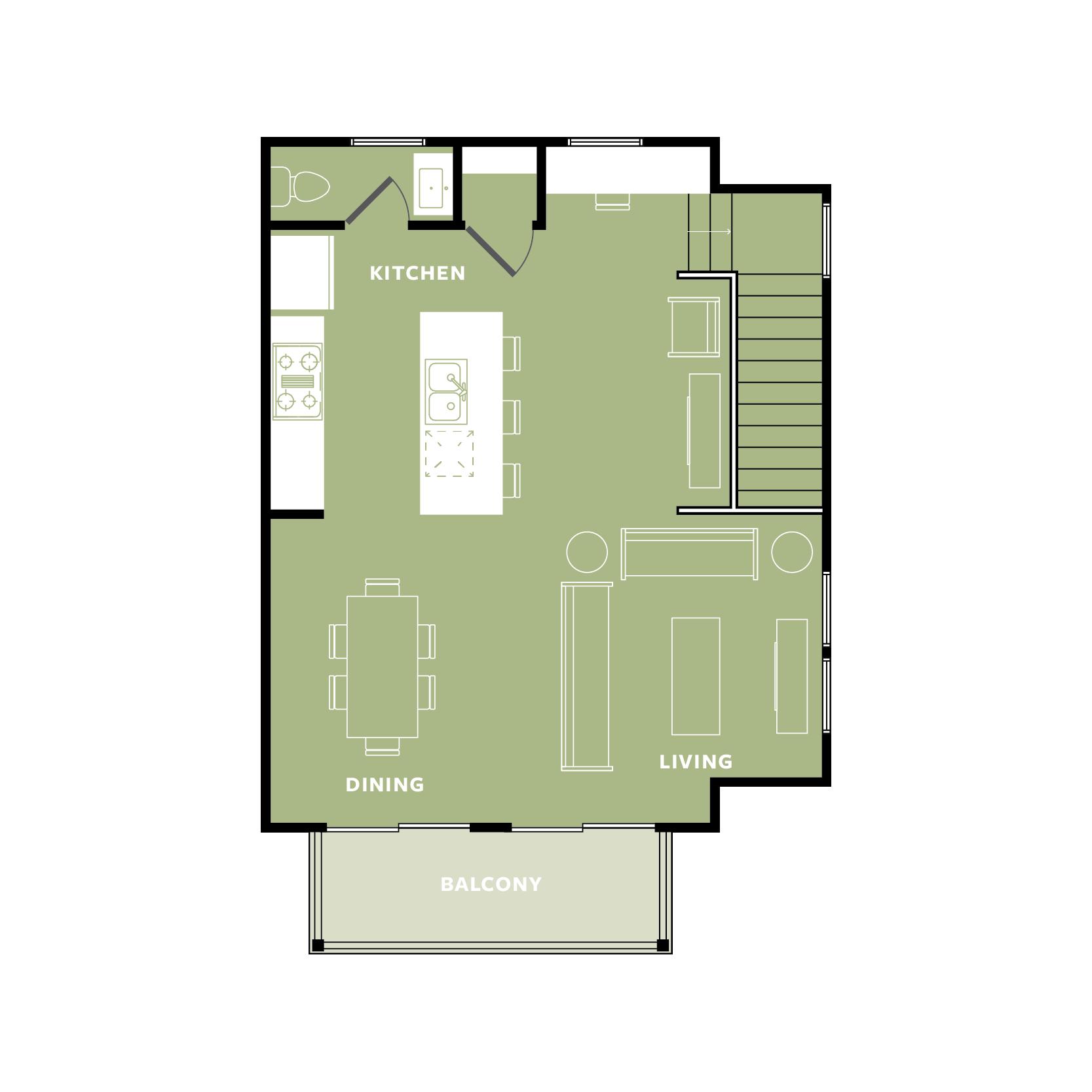 GREEN: Top Floor