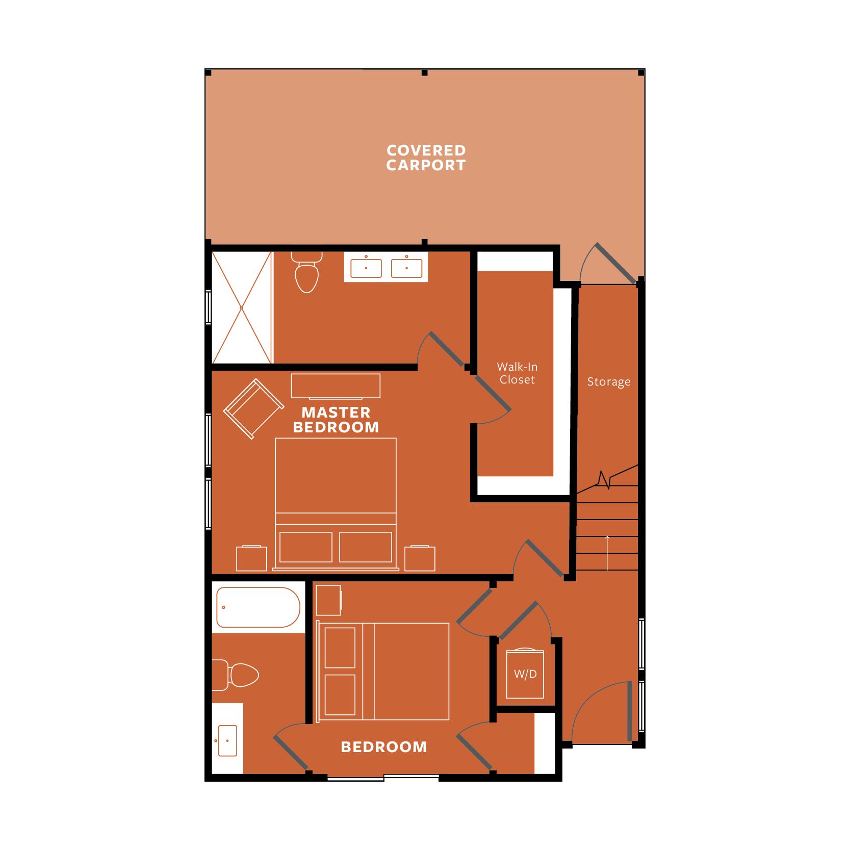 ORANGE: Ground Floor