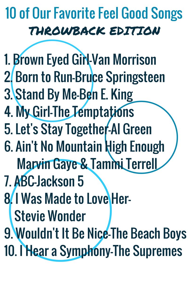 10 of Our Favorite Feel Good Songs