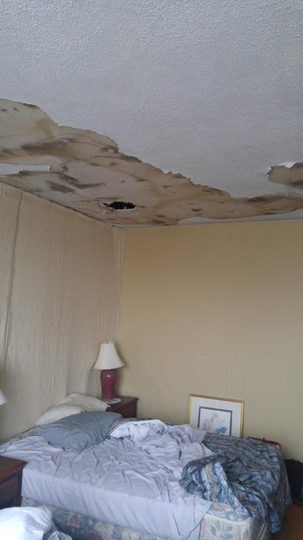 Our room in Sudbury