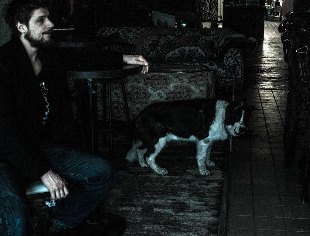 Sasha and Dog-The Apollo