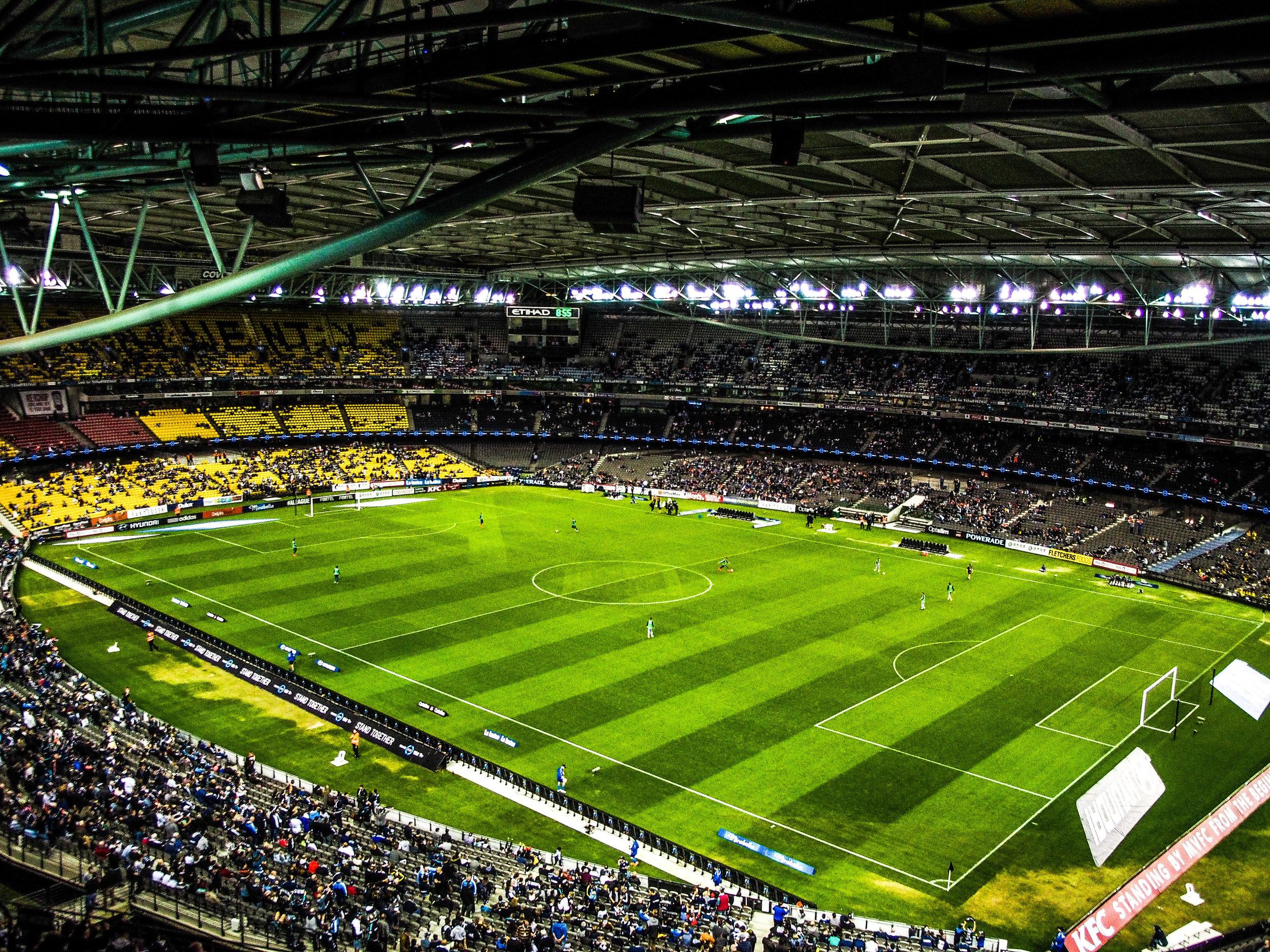 Many Sports, One Stadium