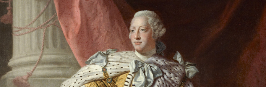 "King George III was very much against american independence. Some North carolina folks were once really loyal to him and named a city after his wife, charlotte.  Image Via: The ""History"" Channel."