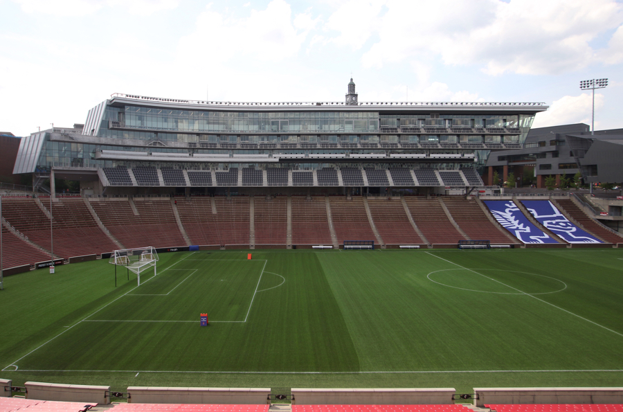 The stadium's club and suite level was added in the winter of 2015-16. For 2016 FC Cincinnati matches, the club level has been completely sold out to season ticket holders.