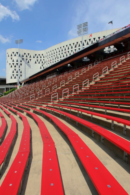 A look at Nippert's steep seating.