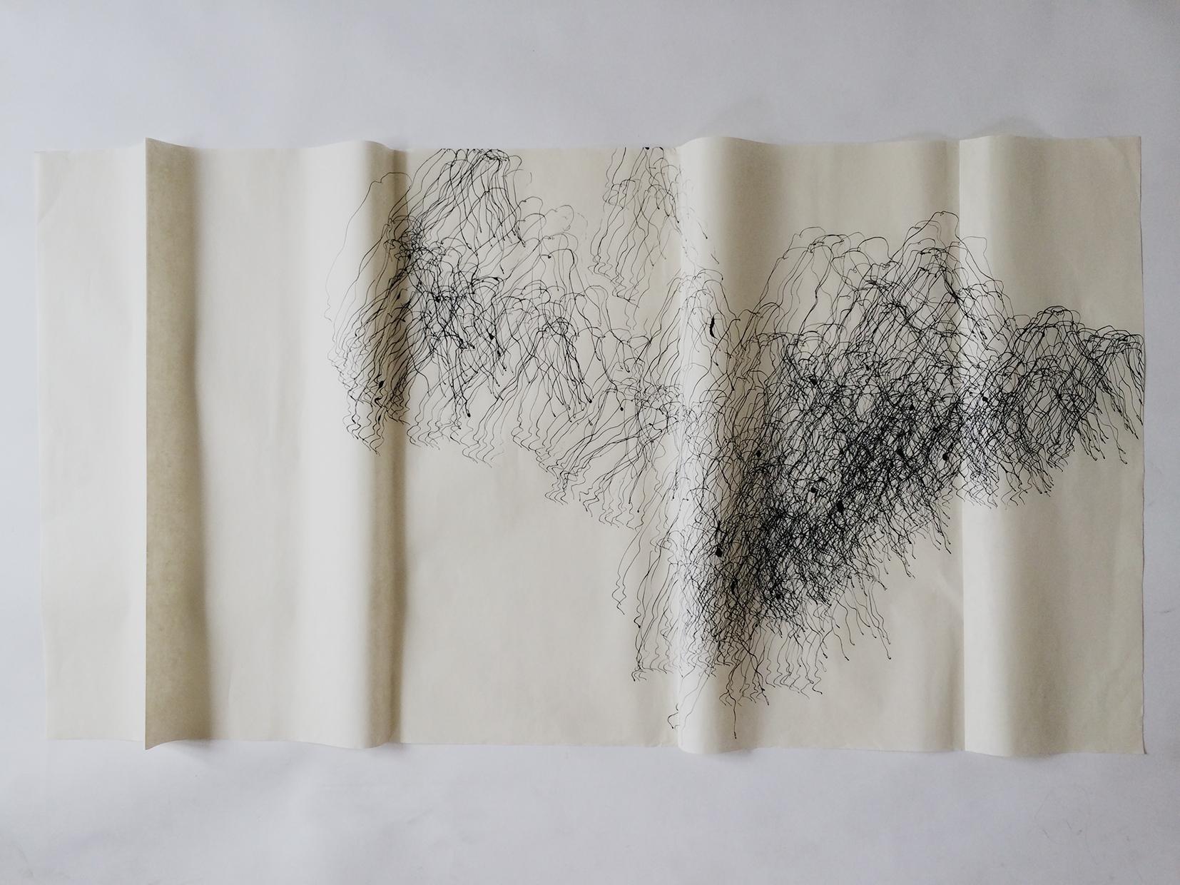 Encre de chine sur papier chinois