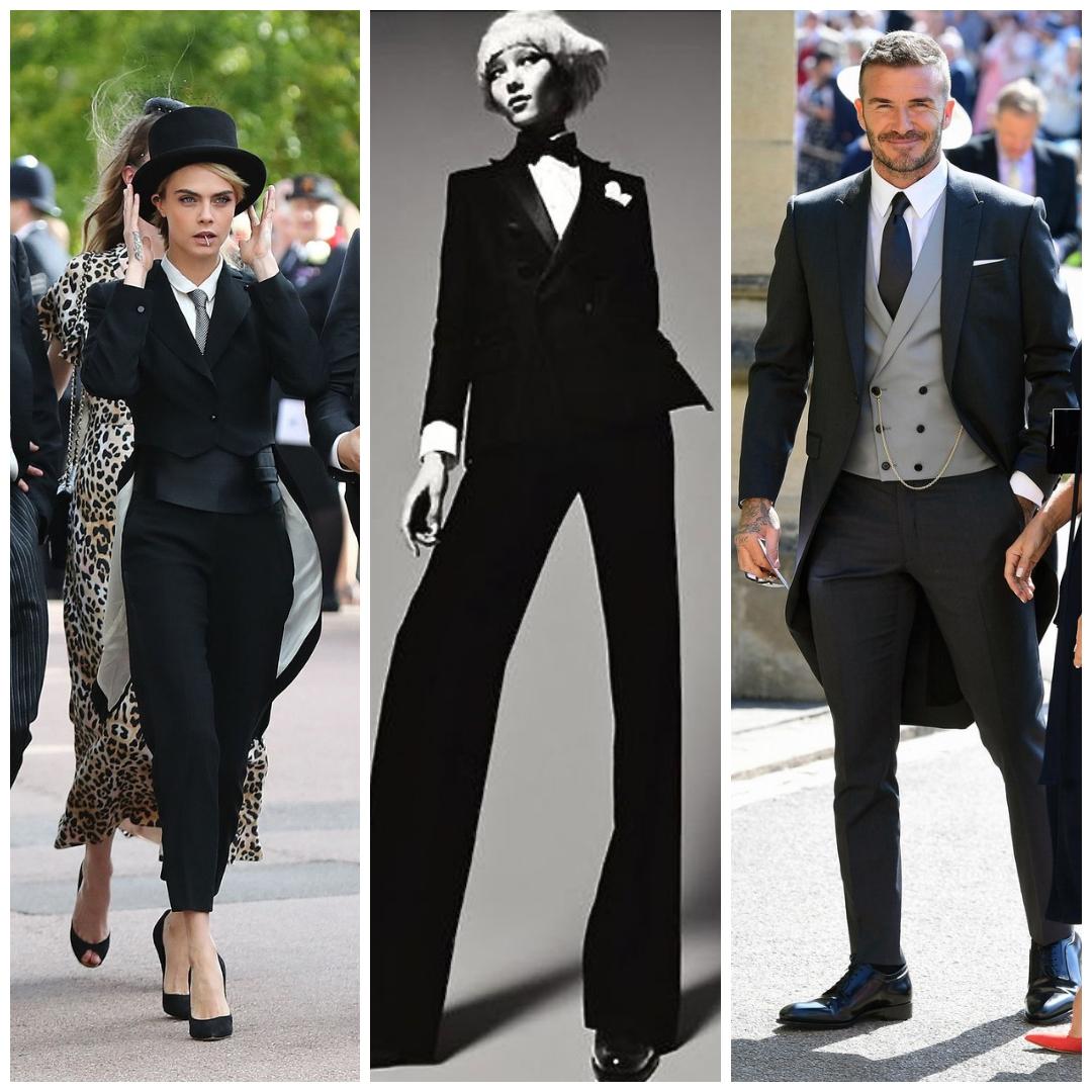 Cara Delevingne and David Beckham stealing the spotlight!