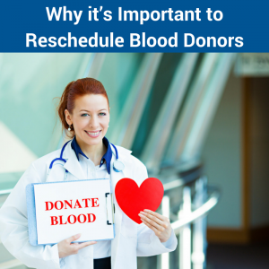 Reschedule Blood Donors