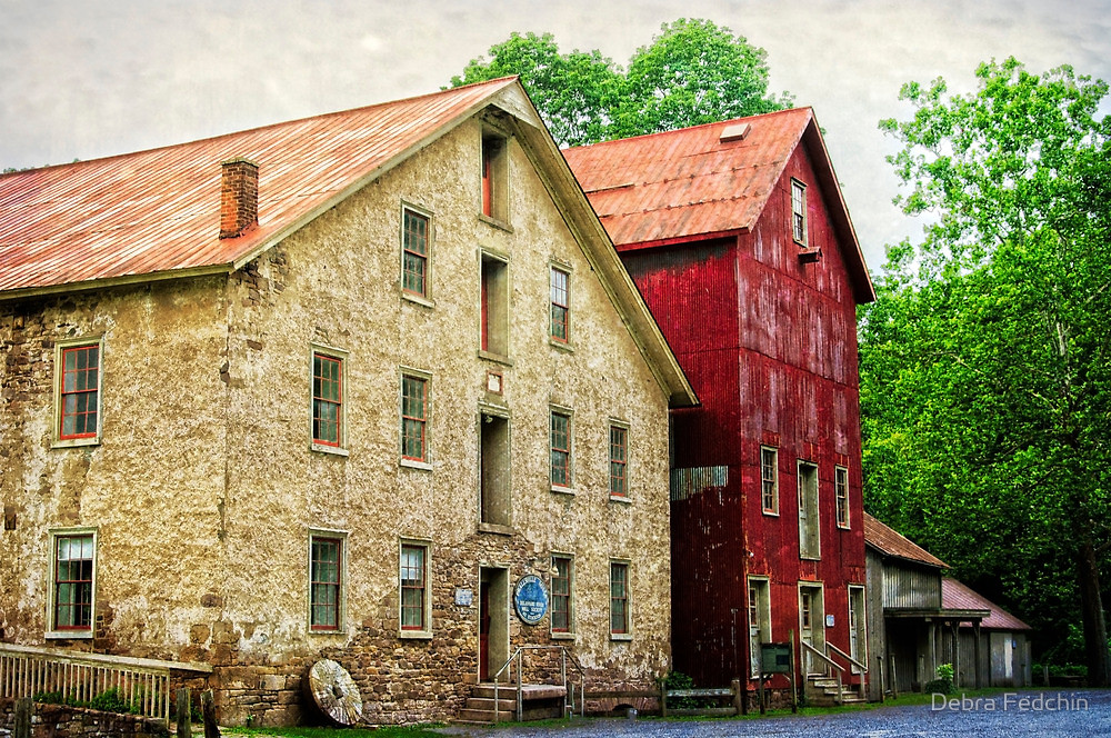 Fiddleheart Academy at Prallsville Mills. If you wish to purchase prints and other merchandise with this image of Prallsville Mills, please go     here  .