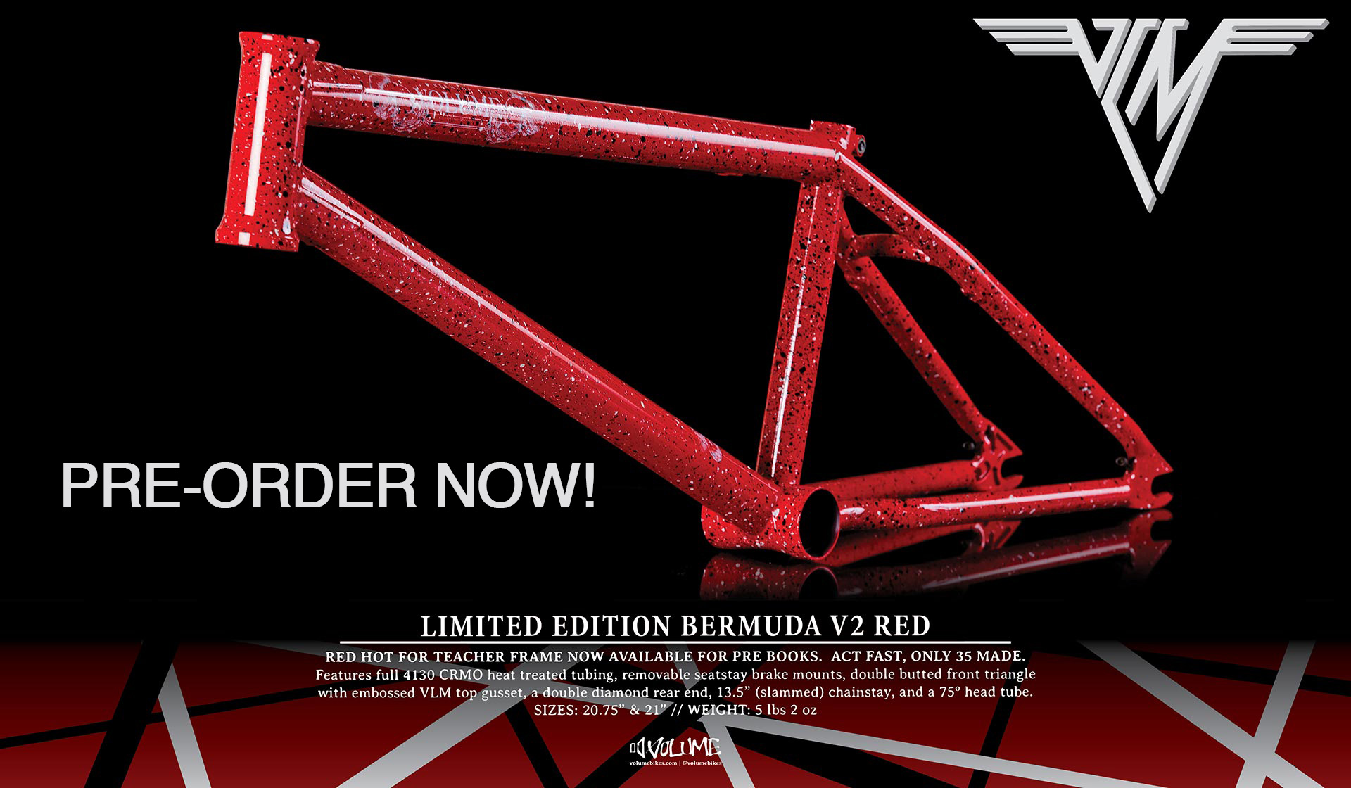 Now available for pre-order in Canada!  Click the pre-order link in our online dealer store.  Free limited edition t-shirt with every frame!