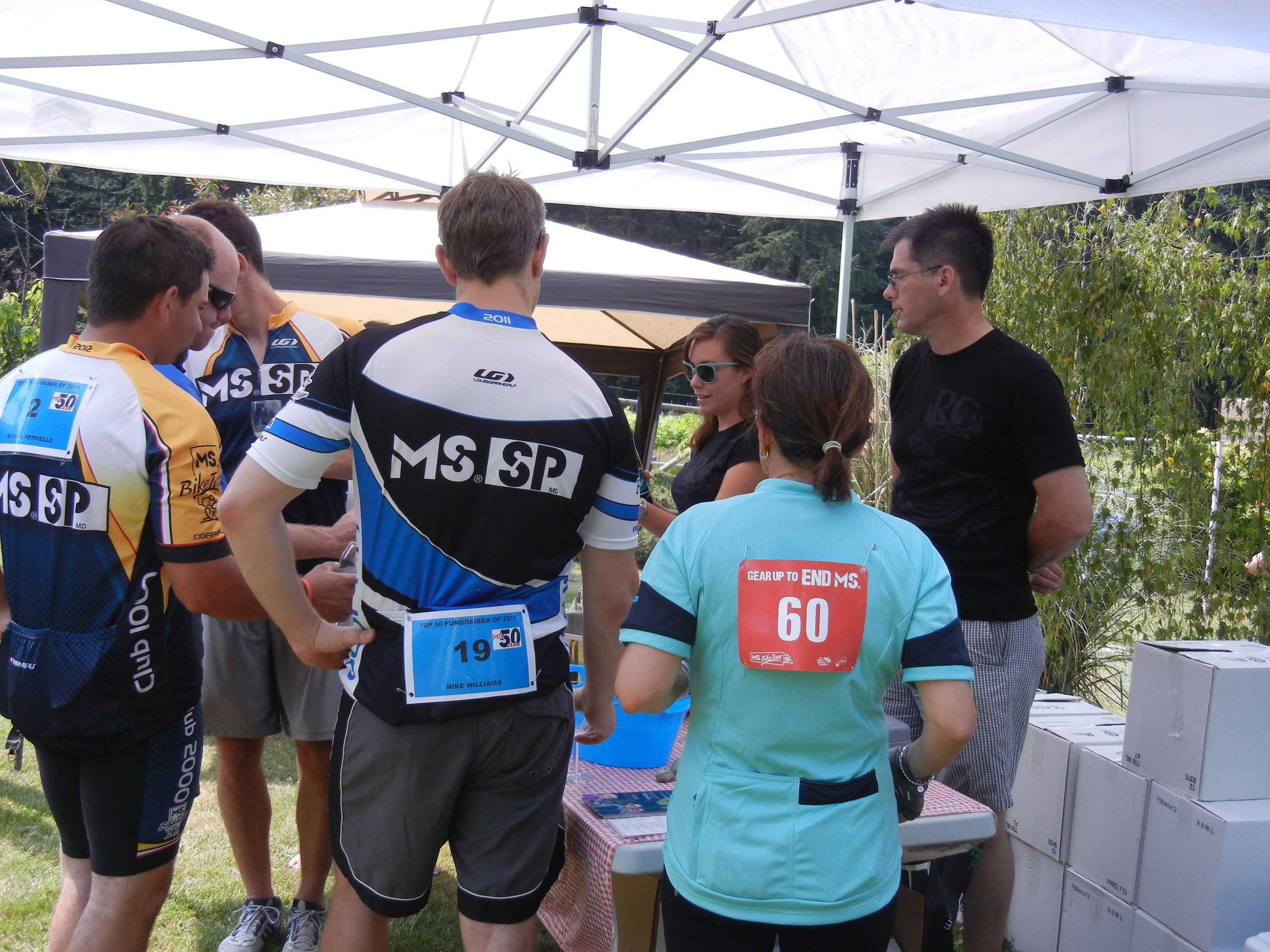 MS Society Bike Experience