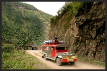 mountain jeepney
