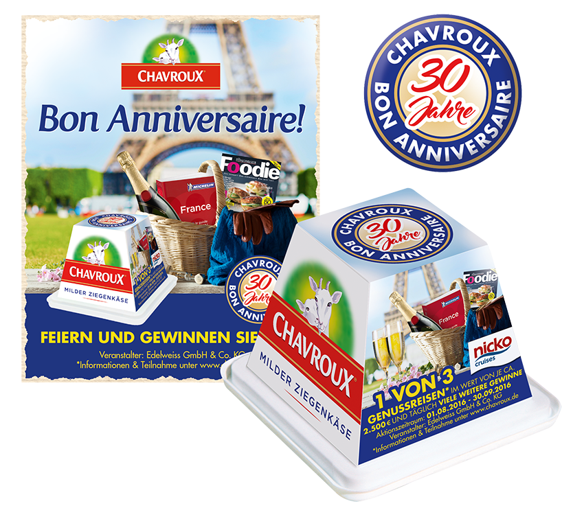 CHAVROUX POS UND ONPACK PROMOTION
