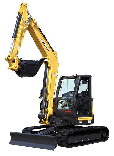 Yanmar ViO80-1A Compact Mini Excavator