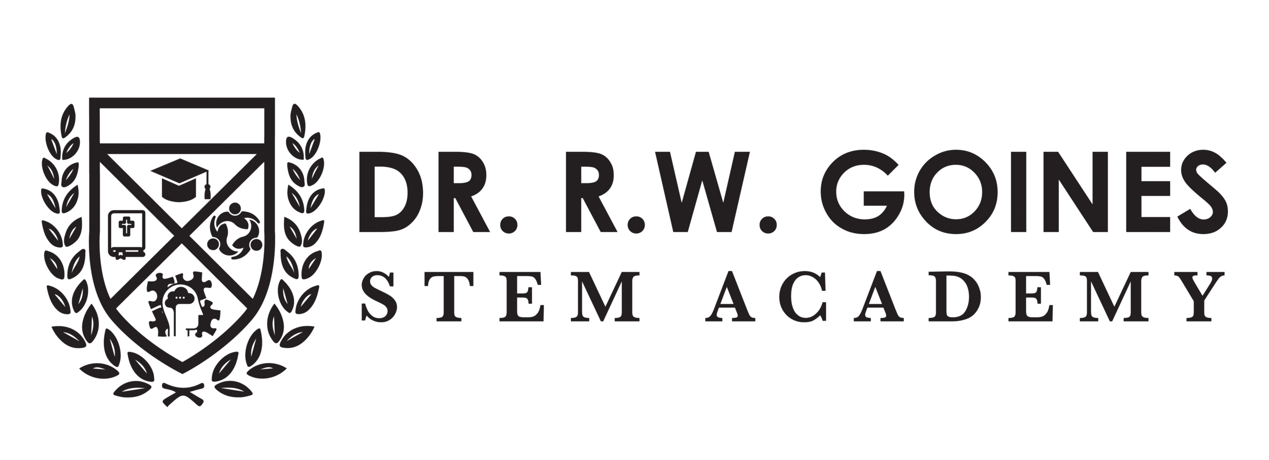 DR RW GOINES STEM ACADEMY FINAL Black.png