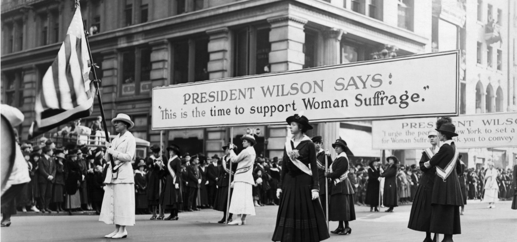 The Women's right to Vote in The United States happened in 1920!! That's not even 100 years ago! Imagine what they could have done with our resources back then?