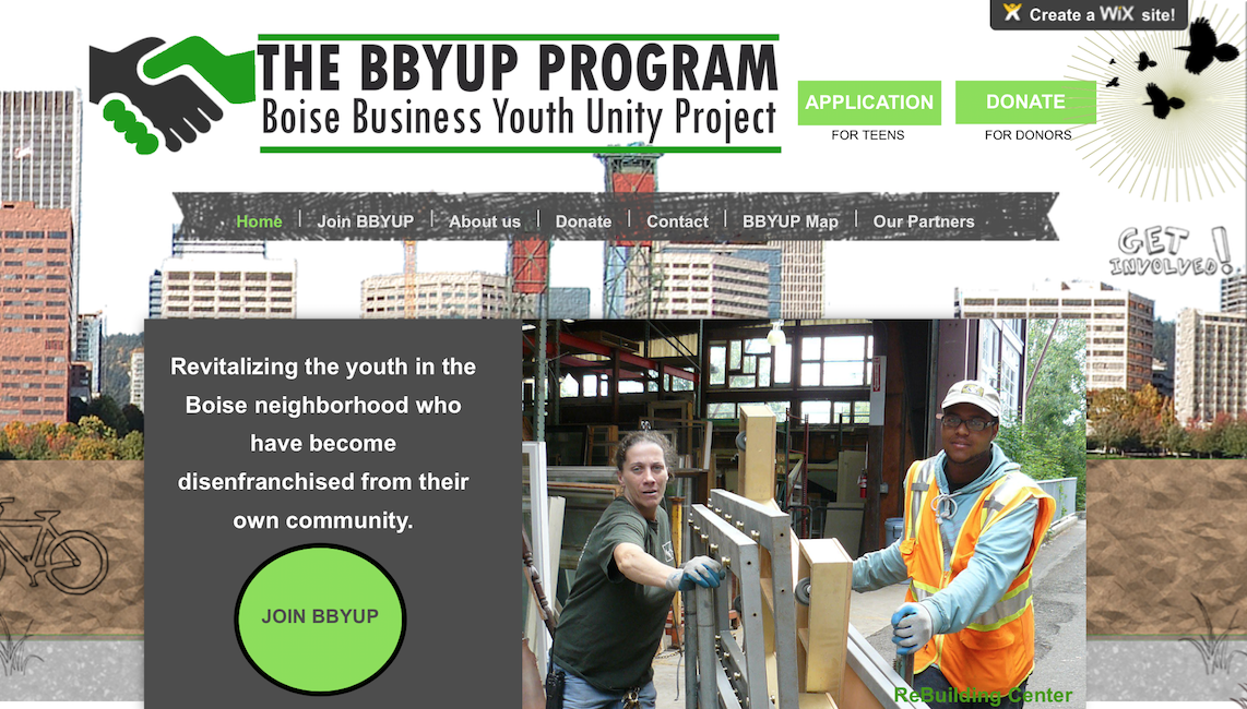 Boise Youth Unity Project