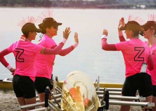MASTERS PROGRAM - Women aged 18-118 are welcome to row with the ZLAC Masters.