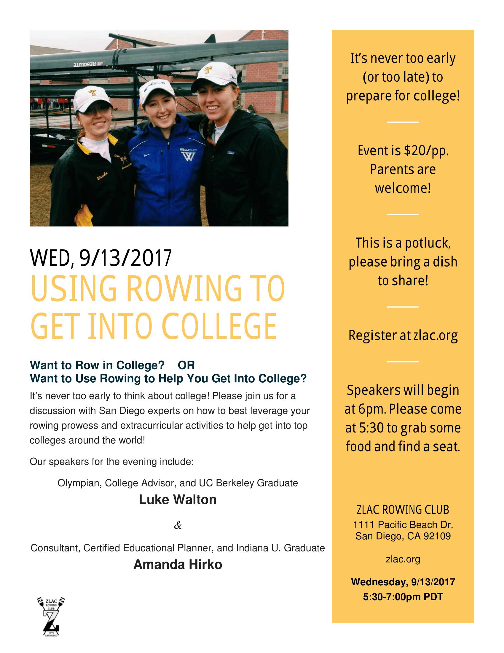 College Prep Flier
