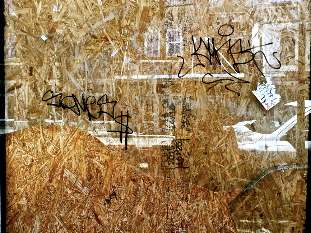 """""""RIP North King: Reflection in plywood"""""""