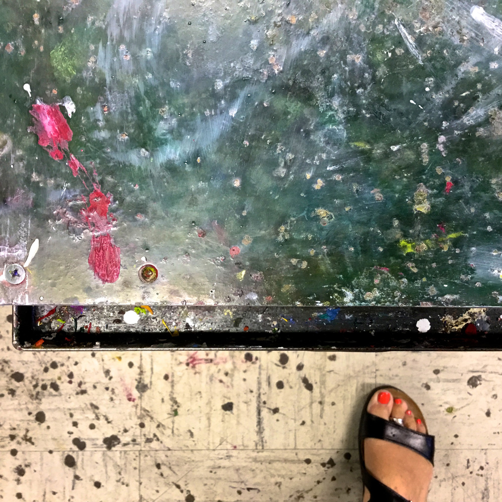 """Street Abstracts: """"Red Toes Paint"""" - KNYRF"""