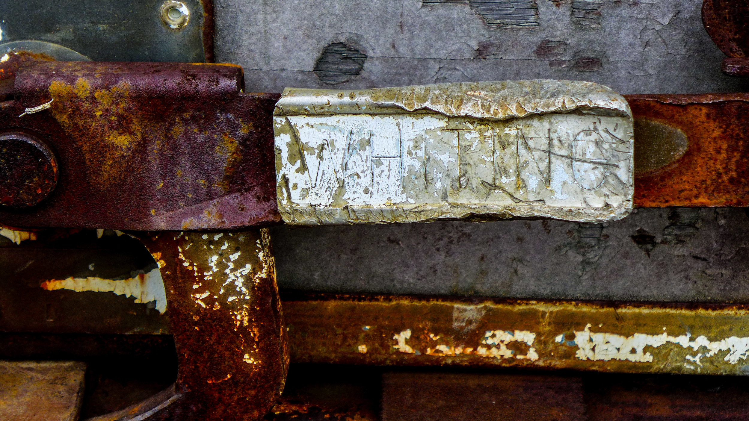"""Street Abstracts: """"Whiting"""" - RM"""