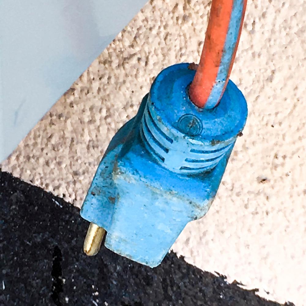 "Street Abstracts: ""Blue Plug"" - SRD"