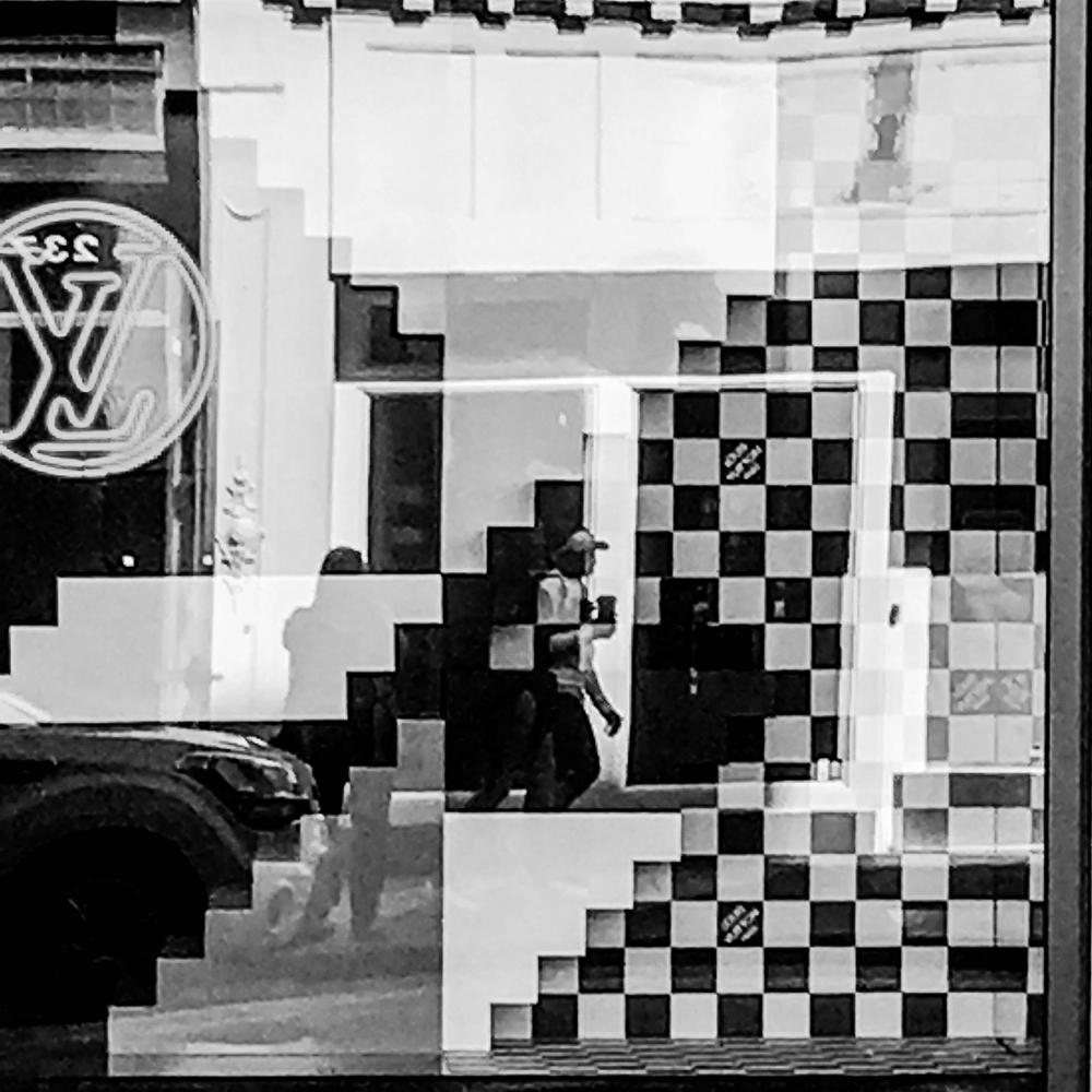 """Charleston Canvas: King St Reflection"""