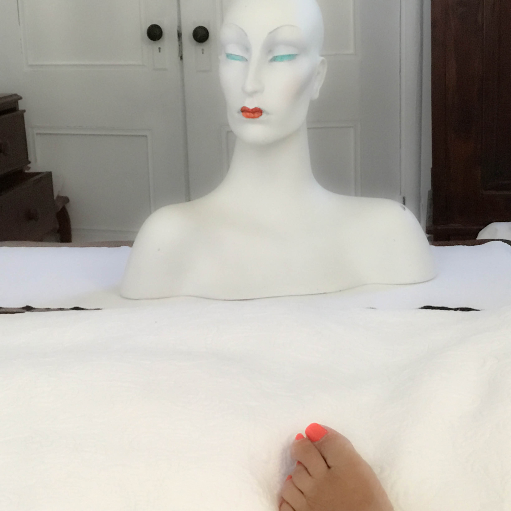 """THE MANNEQUIN SERIES, Lips and toes"""