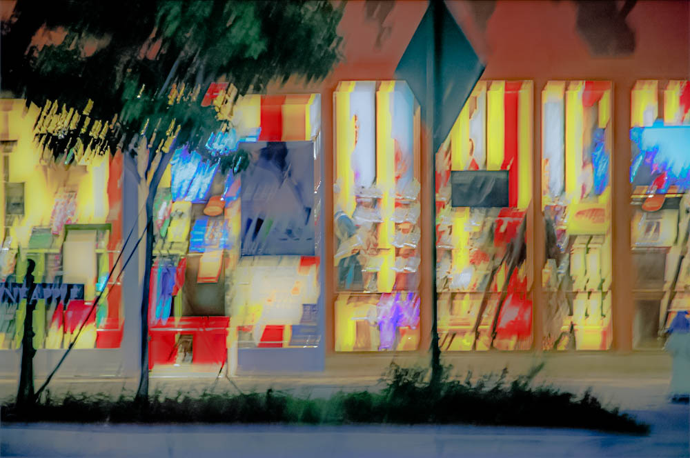 """""""St. Armands at Night"""""""