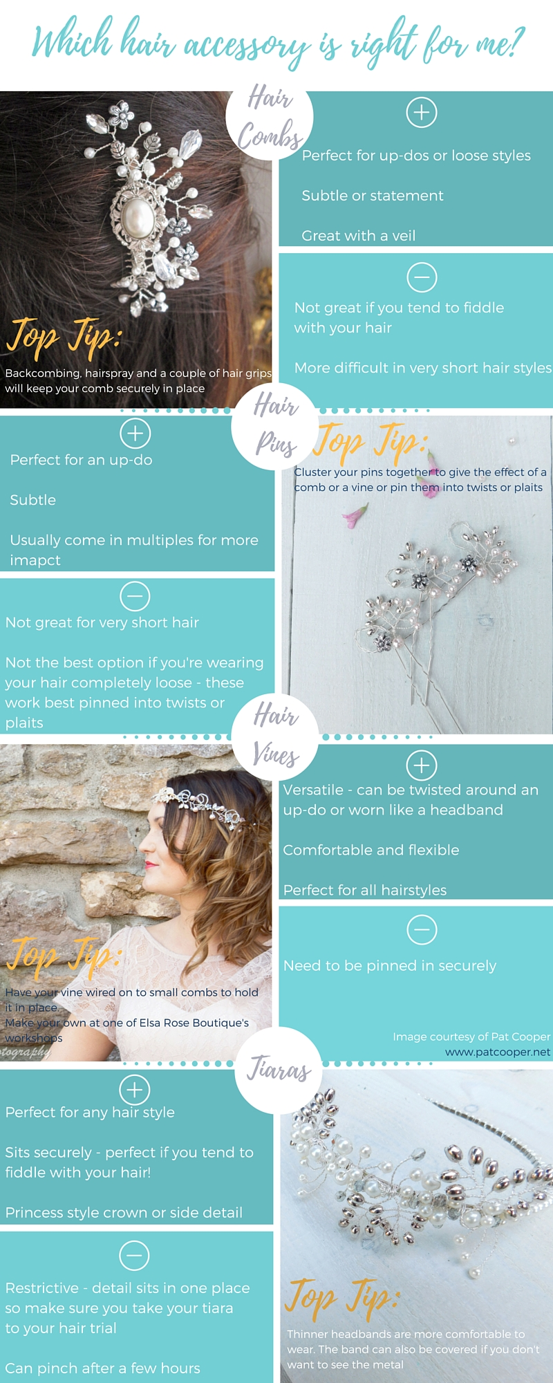 Which hair accessory is right for me infographic