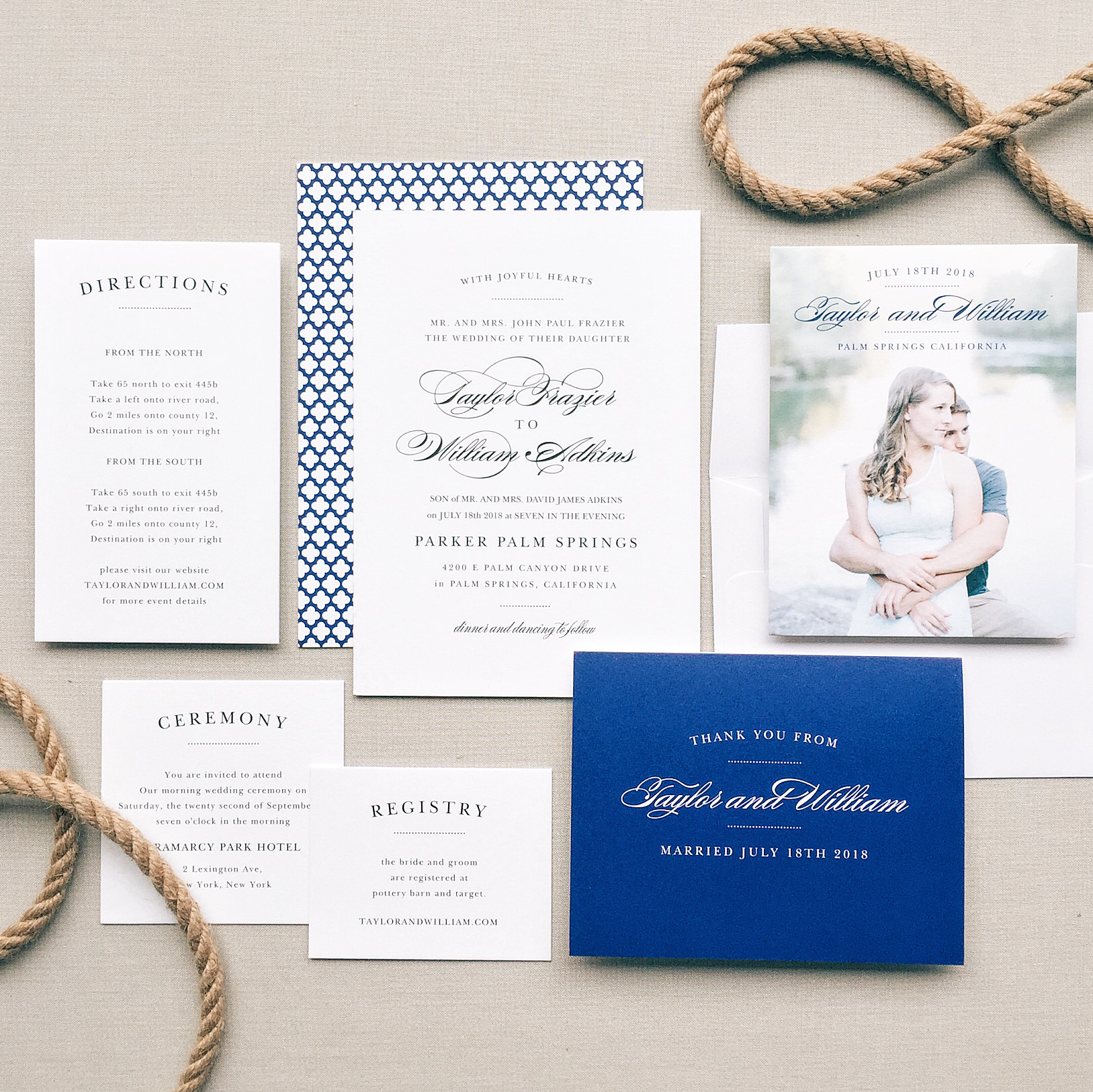 Design beautiful, unique wedding invitations stress-free