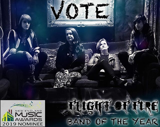 🔥There's still time to cast your votes for The @nemusicawards ! We are so stoked to have been nominated for Band of the Year! HUGE thanks to everyone who has supported us so far! There's a lot of talent in every category so take your time and pick all your favorites!🔥 ⚡️Link in our bio!⚡️ . . . 📸 Original photo by @pcrean