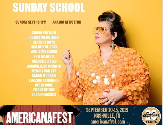 ✈️Gonna be flying in to Nashville early tomorrow morning and then kicking off our trip with a performance for @iamsarahpotenza's gospel music event - Sunday School - at Americanafest! See ya there! 🤘🎶 . . . #sarahpotenza #music #americanafest #flightoffire #gospel #livemusic #nashville #girlband #womeninmusic